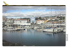 Terceira Port And Angra Do Heroismo Carry-all Pouch