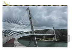 Terenez Bridge I Carry-all Pouch by Helen Northcott