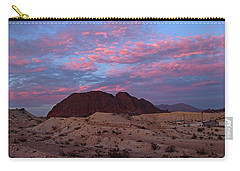 Terlingua Sunset Carry-all Pouch by Dennis Ciscel