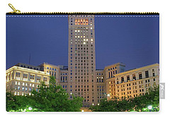 Terminal Tower Carry-all Pouch by Frozen in Time Fine Art Photography