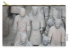 Terra Cotta Warriors Detail Carry-all Pouch
