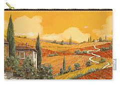 terra di Siena Carry-all Pouch by Guido Borelli