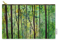 Carry-all Pouch featuring the painting Terra Verde by Hailey E Herrera