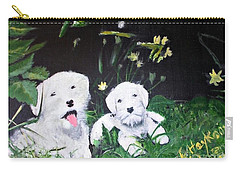 Terriers' Farm Pals. Carry-all Pouch by Francine Heykoop