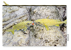 Carry-all Pouch featuring the photograph Territorial Dispute by Perla Copernik