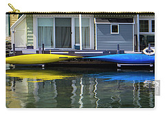 Marina Living In Victoria British Columbia 2to1 Carry-all Pouch by Ben and Raisa Gertsberg