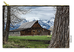 Carry-all Pouch featuring the photograph Teton Barn #1 by Scott Read