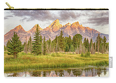 Teton Morning Carry-all Pouch by Mary Hone