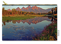 Teton Wildflowers Carry-all Pouch by Scott Mahon
