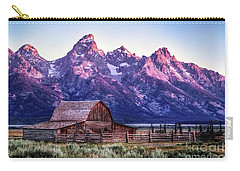 Tetons And Barn Carry-all Pouch