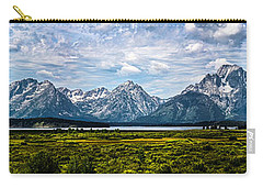 Tetons - Panorama Carry-all Pouch