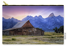 Tetons Sunset Carry-all Pouch