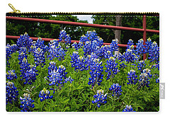 Texas Bluebonnets In Ennis Carry-all Pouch