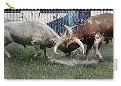 Texas Bull Fight  Carry-all Pouch