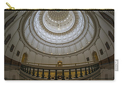 Texas Capitol Dome Wide Angle Carry-all Pouch