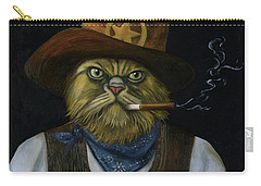 Texas Cat With An Attitude Carry-all Pouch