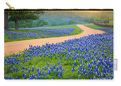 Texas Country Road Carry-all Pouch