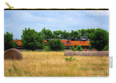 Texas Freight Train Carry-all Pouch by Kelly Wade