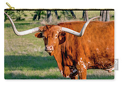 Texas Hill Country Longhorn 9962a Carry-all Pouch
