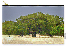 Texas Live Oaks Carry-all Pouch by Susan Crossman Buscho