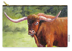 Texas Londhorn Carry-all Pouch