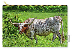 Texas Longhorn Carry-all Pouch by Ray Shrewsberry