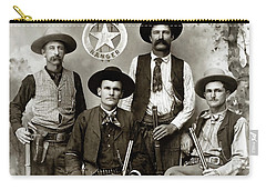 Texas Rangers C. 1890 Carry-all Pouch