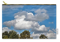 Carry-all Pouch featuring the photograph Texas - Reach For The Sky.   by Ray Shrewsberry
