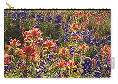 Texas Roadside Wildflowers Carry-all Pouch