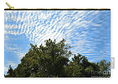 Carry-all Pouch featuring the photograph Texas Scene - Midday  by Ray Shrewsberry