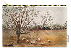 Texas Sheep Carry-all Pouch by Christine Lathrop