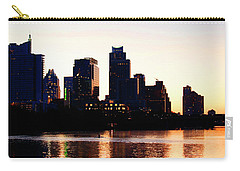Texas Skyline - Austin Carry-all Pouch by Art Block Collections