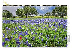 Texas Spring  Carry-all Pouch