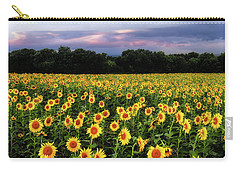 Texas Sunflowers Carry-all Pouch