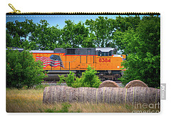 Texas Train Carry-all Pouch by Kelly Wade