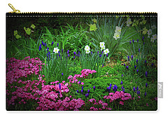 Carry-all Pouch featuring the photograph Texture Drama Garden Escape by Aimee L Maher Photography and Art Visit ALMGallerydotcom