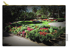 Carry-all Pouch featuring the photograph Texture Drama Garden Park by Aimee L Maher Photography and Art Visit ALMGallerydotcom