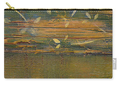 Carry-all Pouch featuring the painting Textured Close Up by Patricia Cleasby