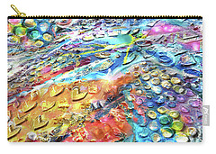 Textured Color Play 2 Carry-all Pouch