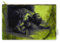 Textured Frustration Carry-all Pouch