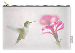 Textured Hummer Carry-all Pouch