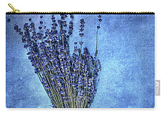 Textured Lavender  Carry-all Pouch by Stephanie Frey