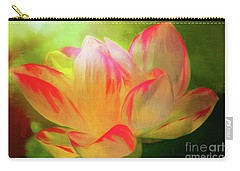 Textured Locus Carry-all Pouch by Geraldine DeBoer