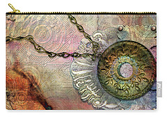 Textured Past Carry-all Pouch
