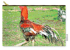 Thai Fighting Rooster Carry-all Pouch