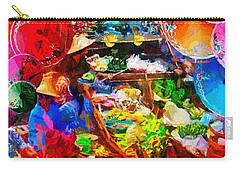Thai Floating Market Carry-all Pouch