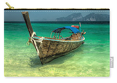 Thai Longboat  Carry-all Pouch by Adrian Evans