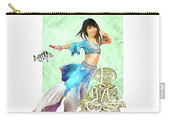 Thai Mermaid Carry-all Pouch by Francesa Miller