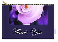 Thank You  Carry-all Pouch by Mary Ellen Frazee