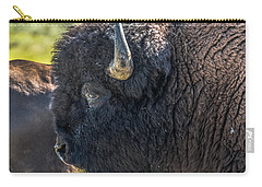 Carry-all Pouch featuring the photograph That Dusty Migration by Yeates Photography